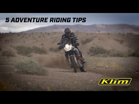 How To: 5 Adventure Riding Tips with Jimmy Lewis
