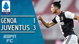 Cristiano Ronaldo scores GOLAZO as Juventus inch closer to Scudetto | Serie A Highlights