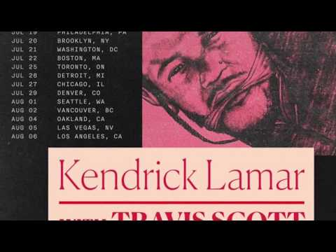 Travis Scott Kendrick Lamar Philadelphia DAMN Tour 7 19 17