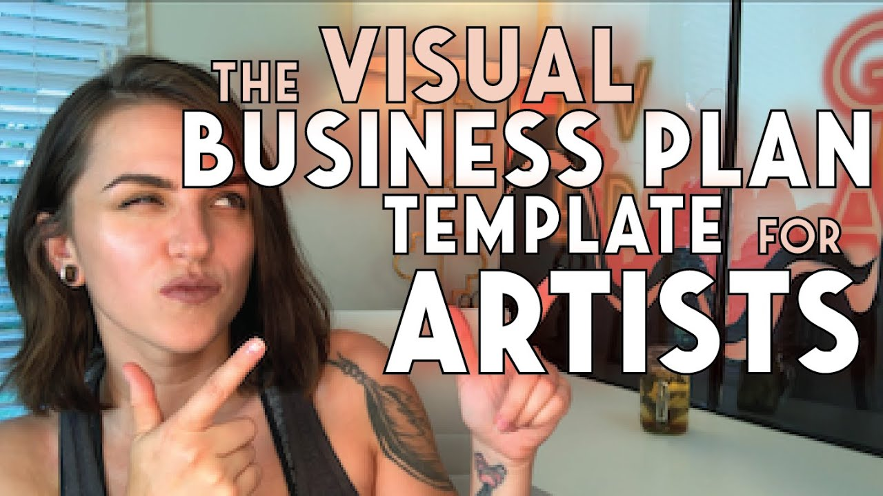 Business Plan Template For Artists