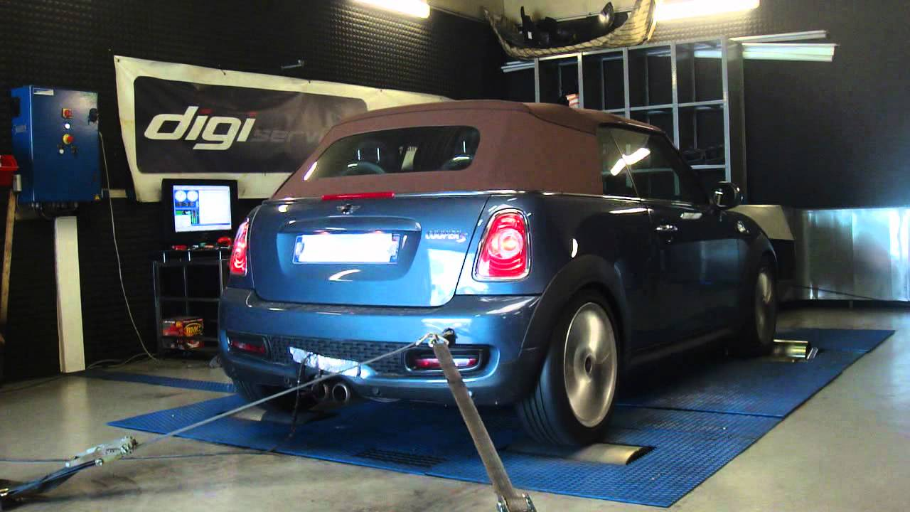 reprogrammation moteur mini cooper s 184cv 206cv dyno digiservices paris youtube. Black Bedroom Furniture Sets. Home Design Ideas