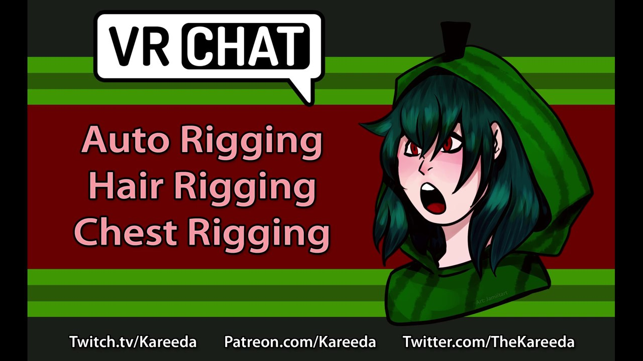 VRChat Tutorial - Auto Rigging, Hair Rigging, Chest Rigging from Scratch!