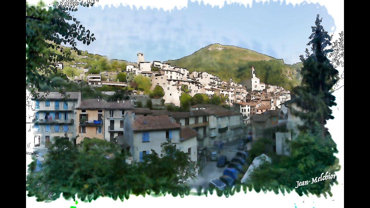 Luceram Village Panorama 4K