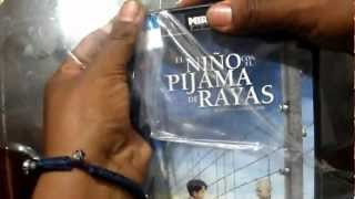 Unboxing DVD EL niño con el piyama de rayas (The Boy in the Striped Pyjamas)ESPAÑOL