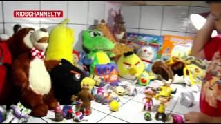 Boboiboy VS SpongeBob Sepak Bola | Soccer | Football | Kids Toys