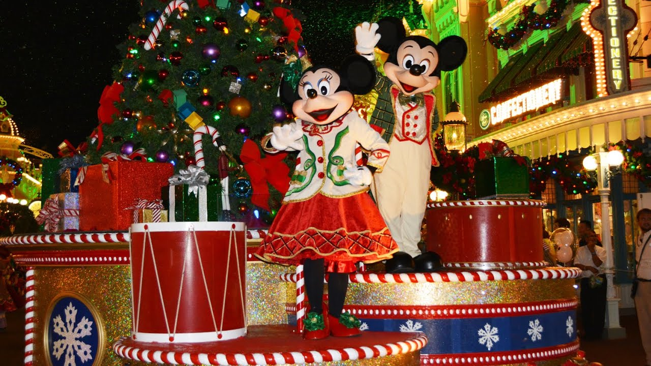 Mickey's Once Upon A Christmastime Parade at Very Merry Christmas ...