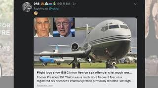 Bill Clinton Denies Flying on Jeffrey Epstein's Plane 26 Times