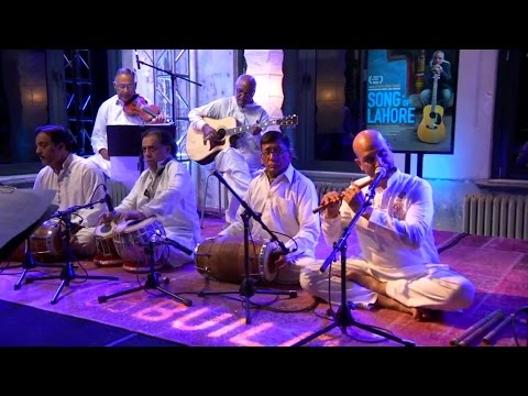 Sachal Jazz Ensemble performing @ launch of Song of Lahore - AOL Build