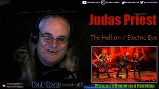 Judas Priest - Requested Reaction - The Hellion / Electric Eye