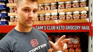 Keto Grocery Haul | Sam's Club Edition