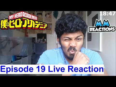 """Ribbit"" - My Hero Academia Season 2 Episode 19 Live Reaction (ep32)"