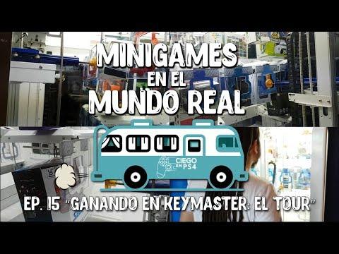 GANANDO EN KEYMASTER: EL TOUR - Mini Games en el Mundo Real Ep. 15