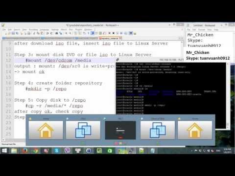 Create repository in linux 7 Step by step
