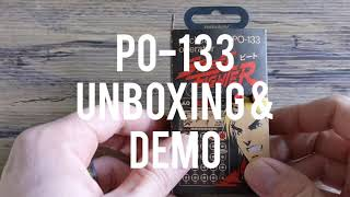 Teenage Engineering Pocket Operator PO-133 Street Fighter - Unboxing and Demo