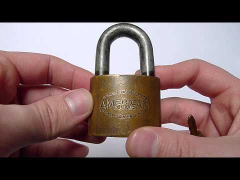 Old Junkunc Bros. American Lock Co. Padlock Restored