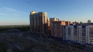 Университетская улица на видео в Сургуте: Аэросъемка SURGUT UNIVERSITETSKAYA str 11 the best house (автор: andrey pokrovskiy)