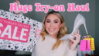 HUGE TRY-ON CLOTHING HAUL 2019