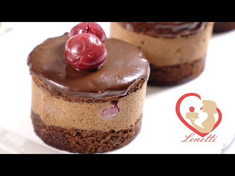 Chocolate Cherry Cake | Delicious And Simple | Lenetti