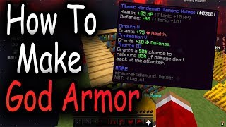 Hypixel Skyblock - How To Make God Armor