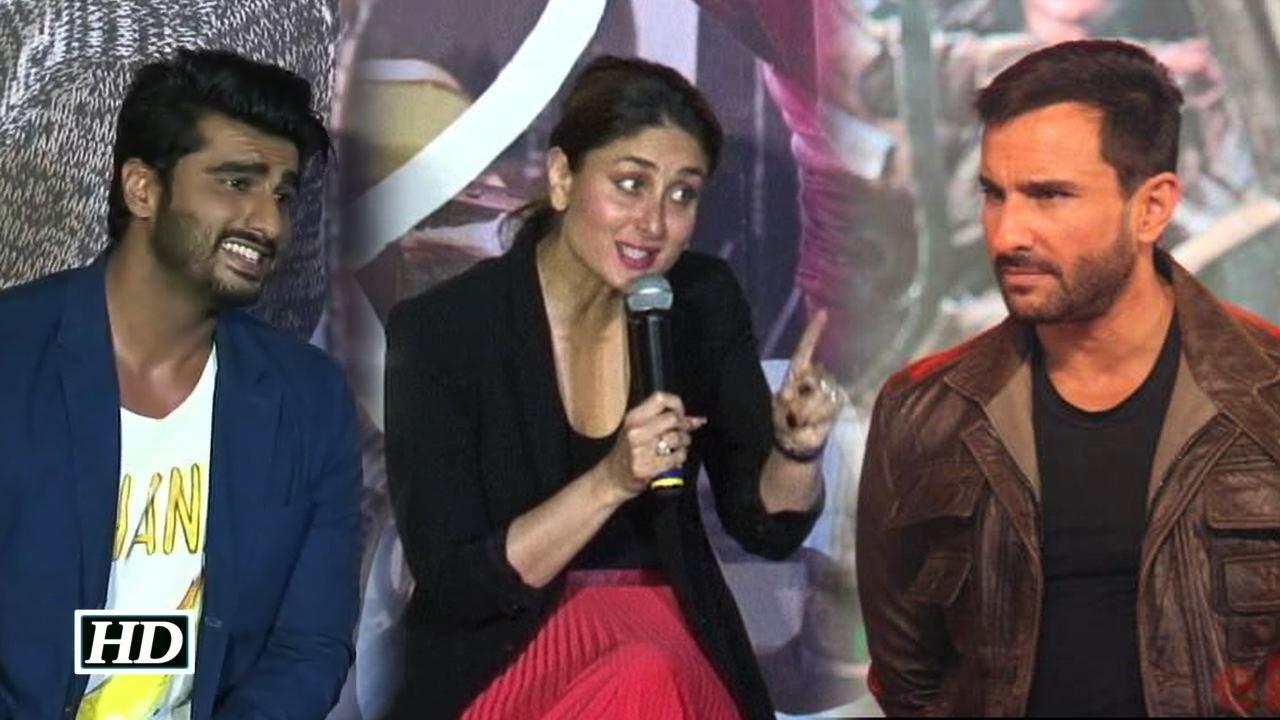 Arjun Kapoor, Kareena Kapoor, Saif Ali Khan