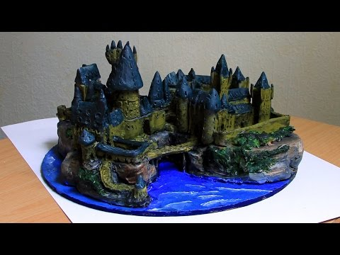 Hogwarts sculpture complete timelapse + hq pictures
