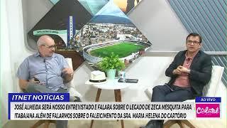 Reproduzir REPERCUSSÃO DA MORTE DE D. MARIA HELENA EM ITABAIANA