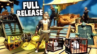 Sea of Thieves RELEASE Part 1 ALL GUILD QUESTS (Sea of Thieves Ep 1)