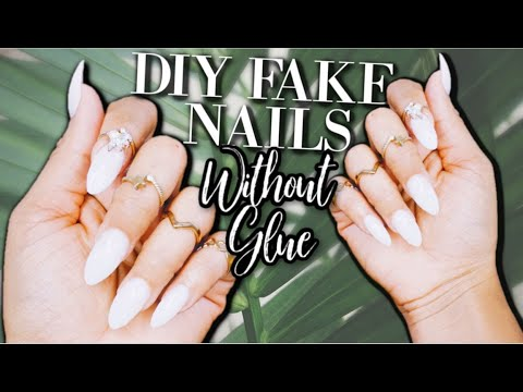 diy-fake-nails-without-glue-|-last-for-2-weeks+