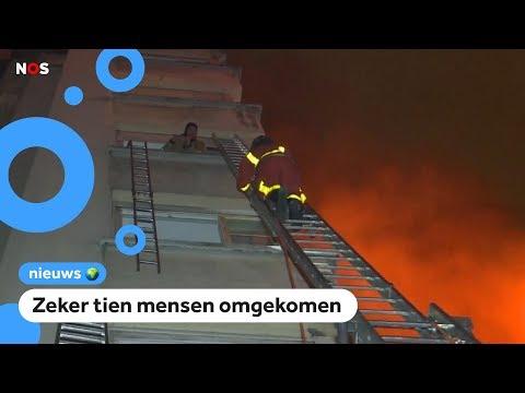 Heftige brand in een flat in Parijs