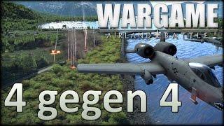 Wargame Airland Battle - 4 gegen 4 - Und mir gehört die Flanke