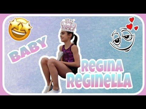 BABY REGINA REGINELLA da ginnaste ginnastica artistica csb