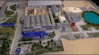 Завод строительных материалов презентовал свою продукцию