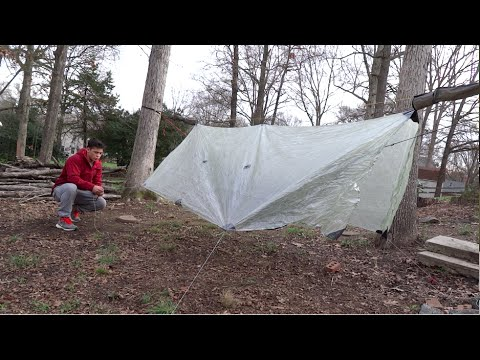 zpacks cuben fiber hammock tarp with doors   unboxing and set up zpacks cuben fiber hammock tarp with doors   unboxing and set up      rh   youtube