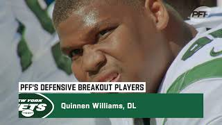 PFF Names Quinnen Williams As Defensive Breakout Player For 2021 | The New York Jets
