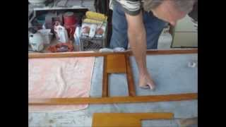 Restoring The Shasta Part 31a - Screen Door And Table Leg