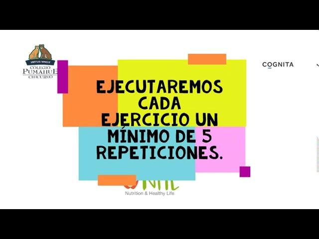 Cápsulas de entrenamiento de profesores de Ed. Física - Pumahue Chicureo