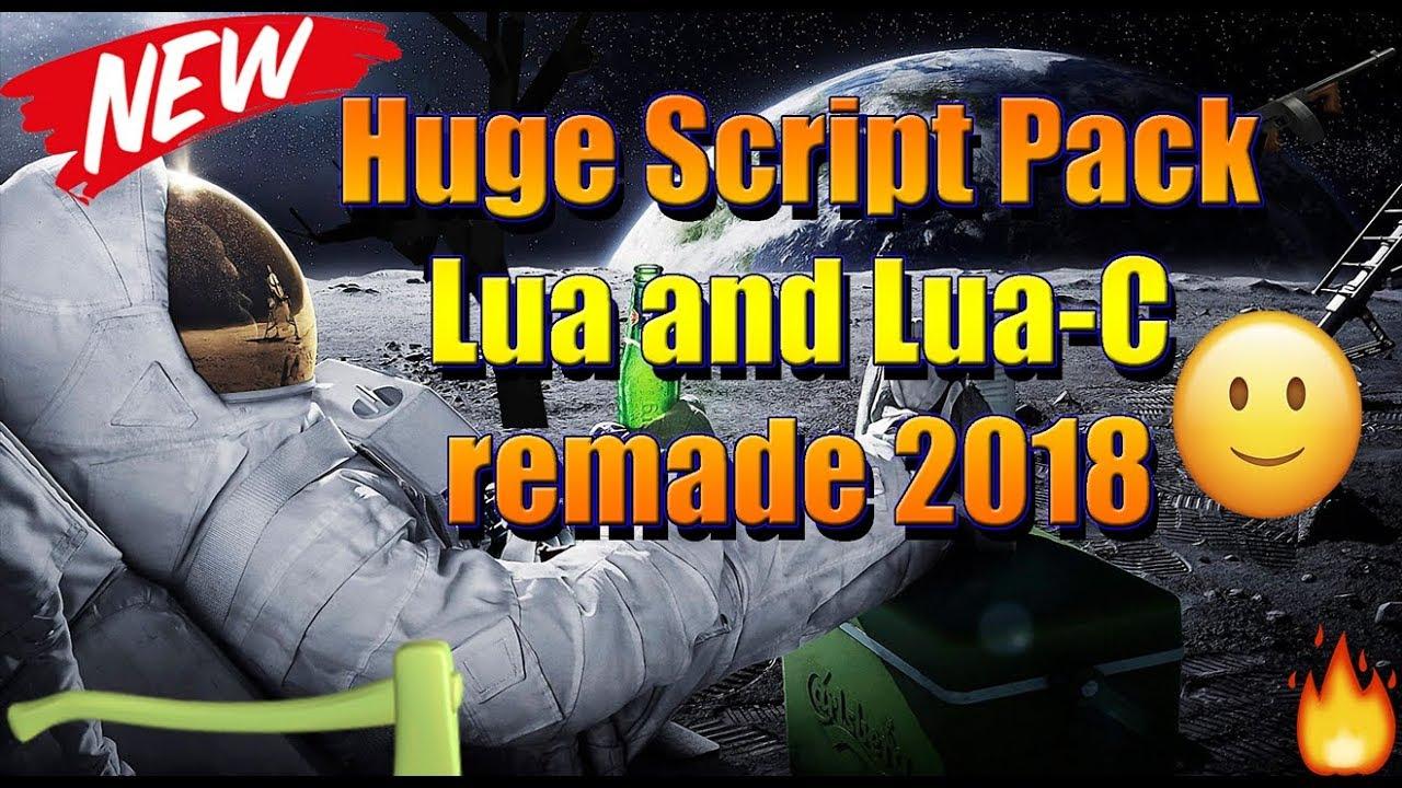 [NEW] Roblox Huge Lua And Lua-C Script Pack