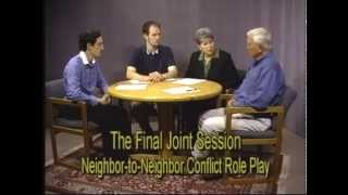 Mediation: A Neighbor to Neighbor Conflict Role Play - The Mediation Process