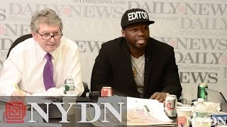 50 Cent Takes Over at the Daily News