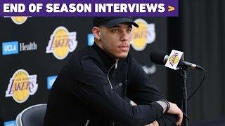 2019 End of Season Interview: Lonzo Ball