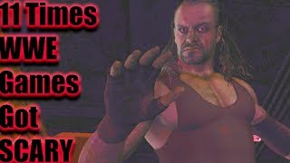 11 Times WWE Games Got Really Scary