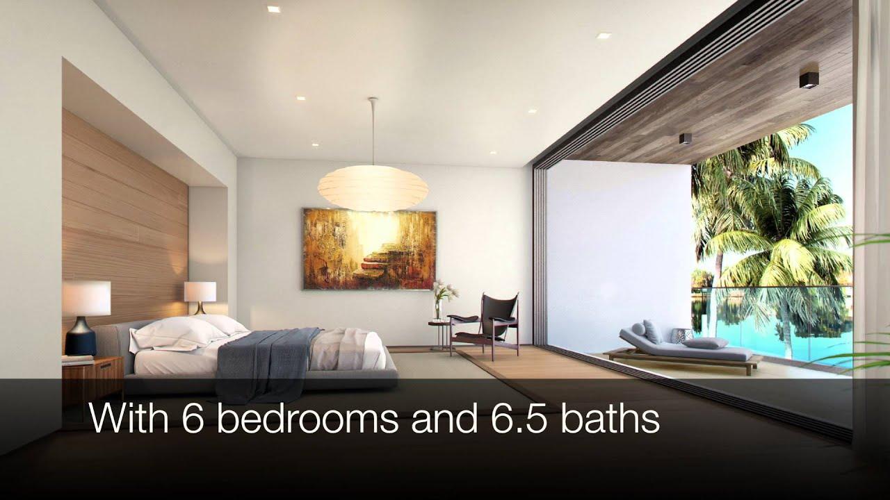 FOR SALE Luxury Modern Waterfront Villa On Venetian Islands Miami Beach By Verzun