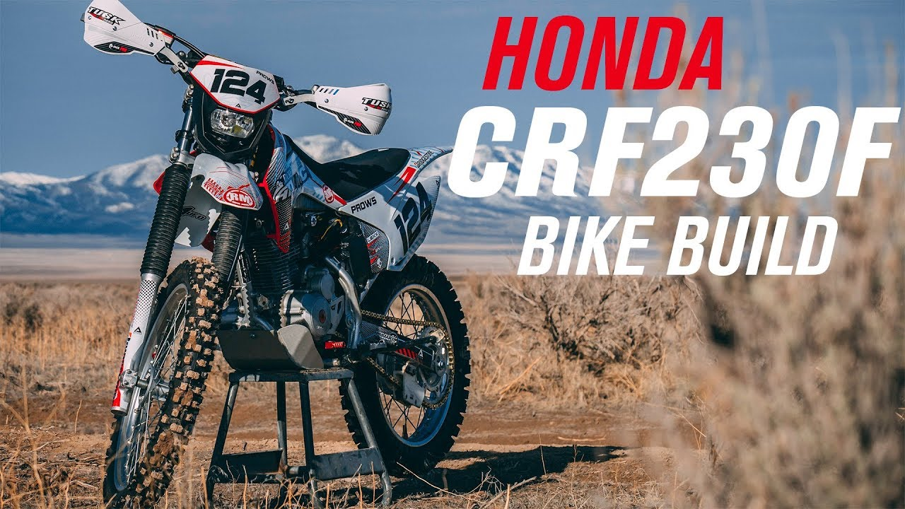 Honda CRF230F Bike Build