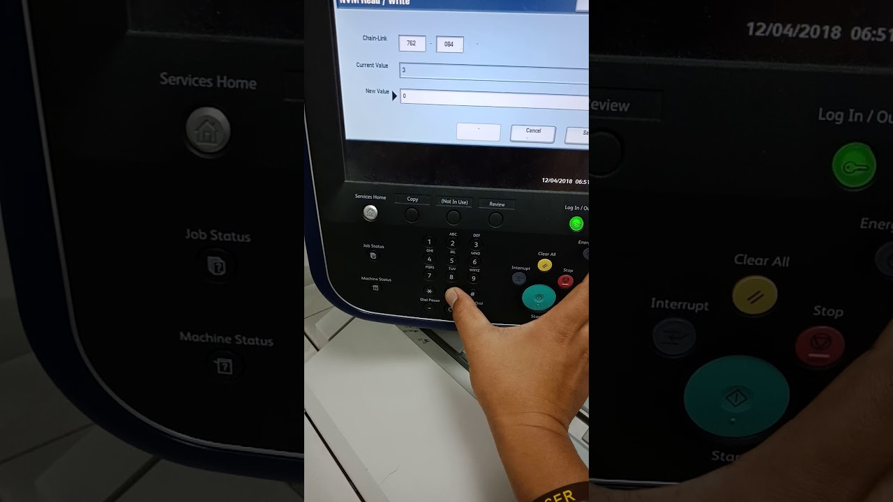 Fujixerox D110 And D95 Fault Error 093 311 Youtube