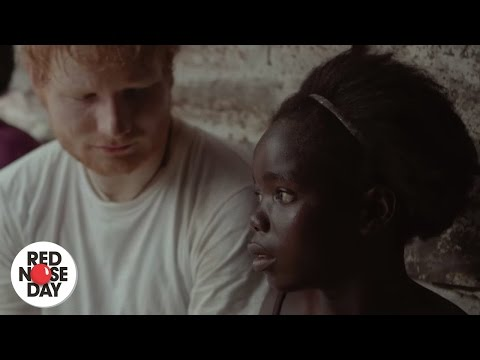 Ed Sheeran meets Peaches in Liberia | Red Nose Day