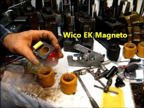 Wico EK Magneto Repair coils / guide pin 2of