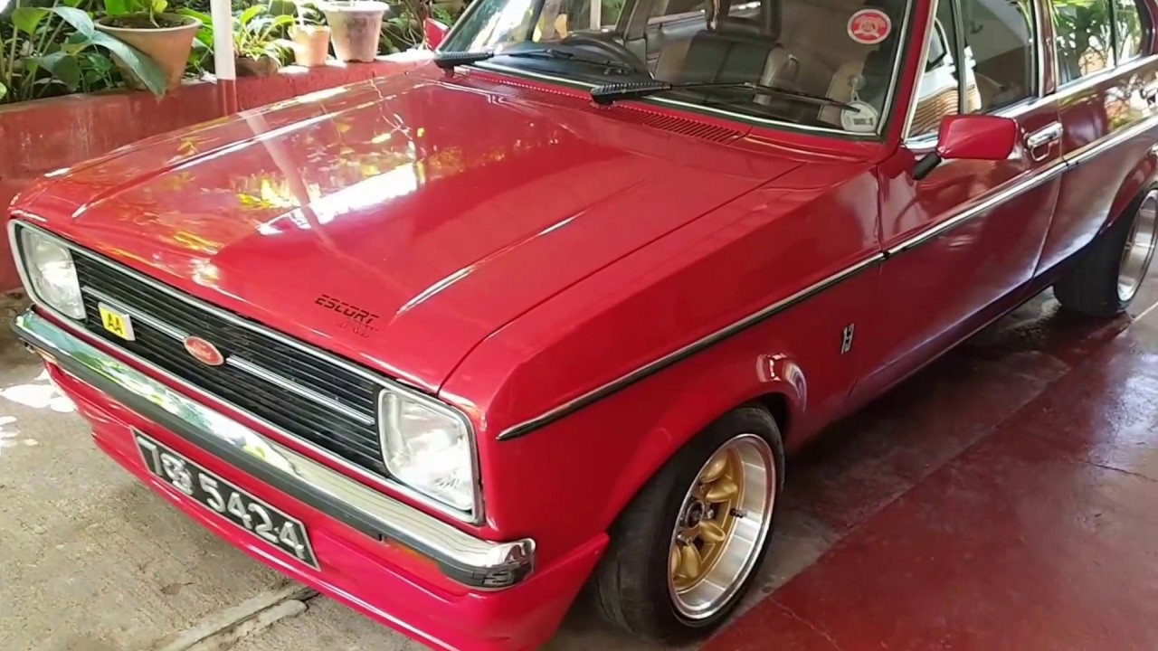 Ford Escort mk2 one of the best in Sri Lanka - YouTube