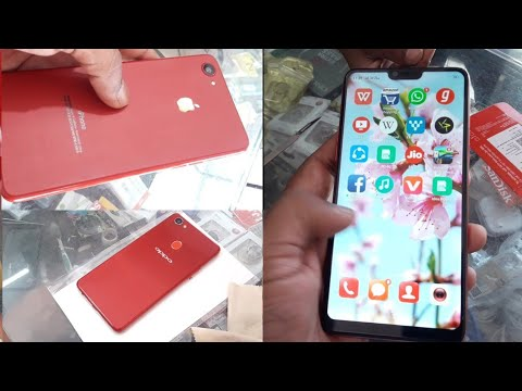 best service 27fad 57518 Convert Oppo F7 into Iphone X with apple lamination decorate paper