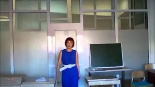 Аутфит на банкет (Аюна в синем платье Incity)