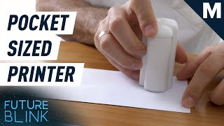 This Tiny Printer Fits in The Palm of Your Hand | Future Blink